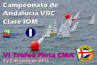 Campeonato de Andalucia VRC Clase IOM - Club de Mar Almeria