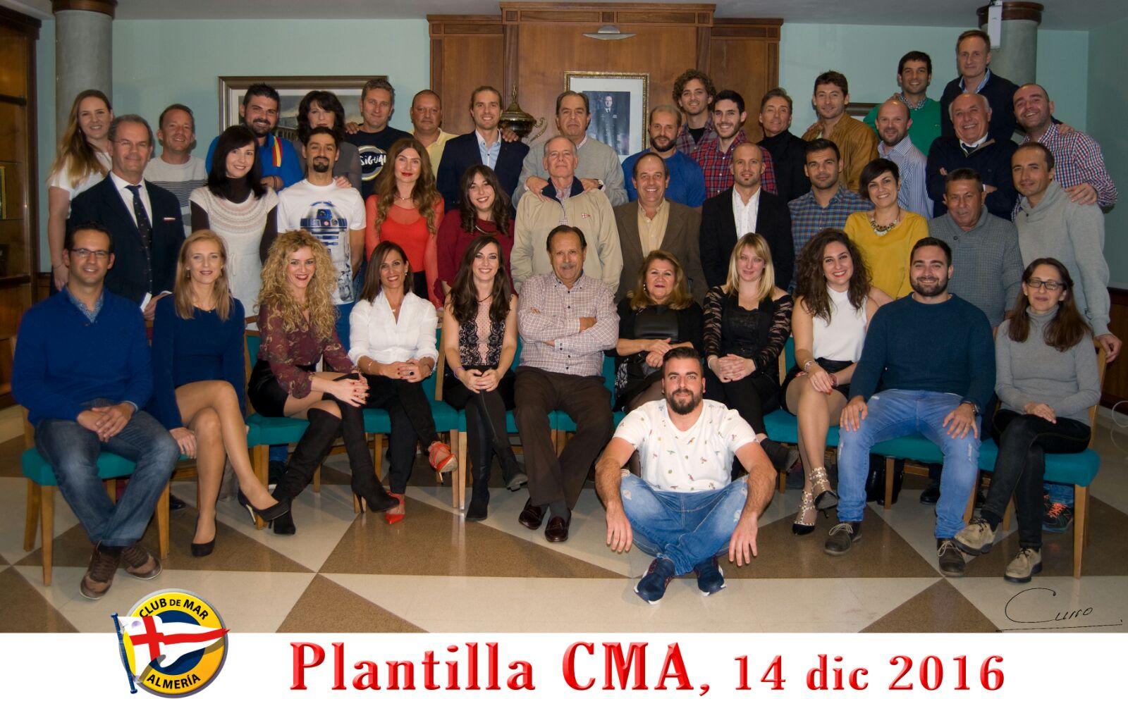 Plantilla CMA 2016
