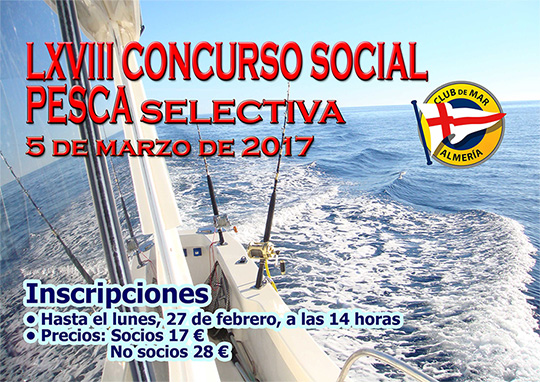 LXVIII Concurso Social esca Selectiva