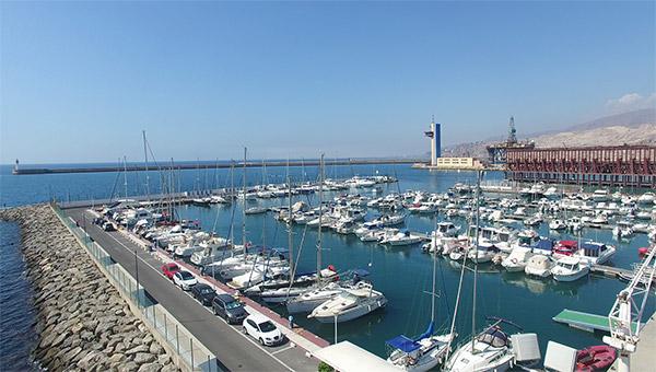 vista-aerea-club-de-mar-almeria-dron