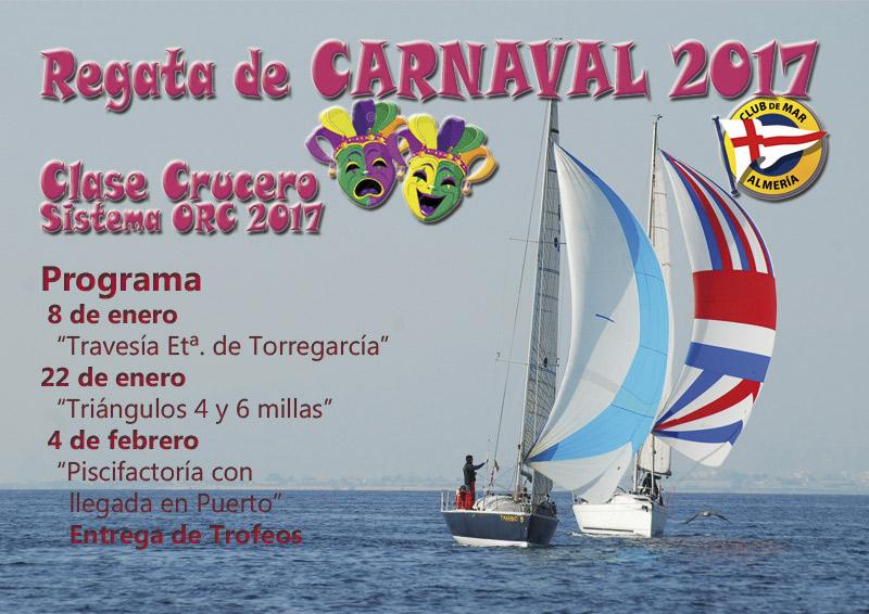 Regata de Carnaval 2017 - Club de Mar Almería