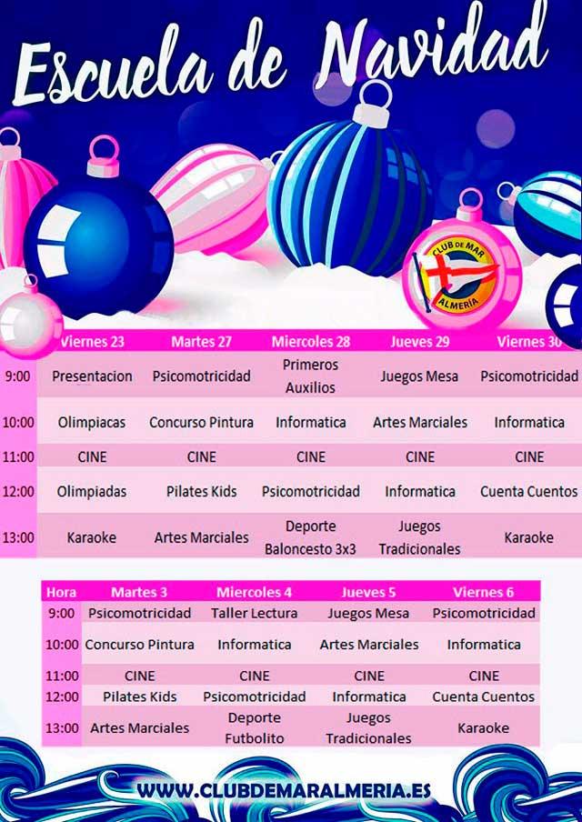 Navidad - Club de Mar Almería